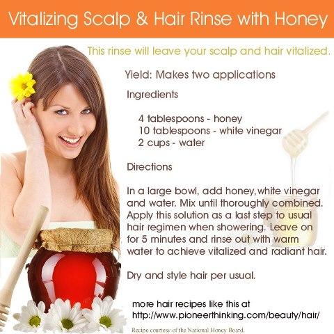 Natural Hair Rinse